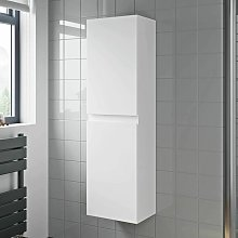 1200mm Tall Bathroom Wall Hung Cabinet Cupboard