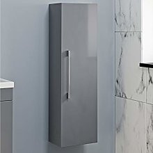 1200mm Tall Bathroom Wall Hung Storage Cabinet