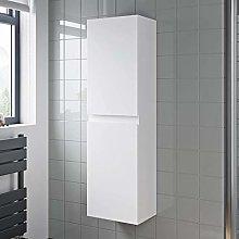 1200mm Tall Bathroom Wall Hung Storage Cabinet