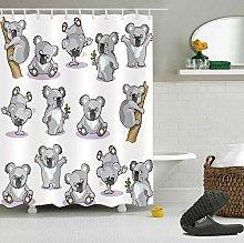 123456789 Cute Koala Baby 100% Polyester Fabric