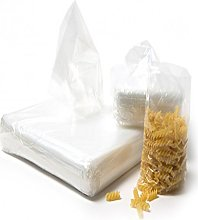 125 Strong Clear Polythene Plastic Storage Bags