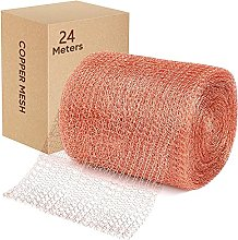 125mmX24m Copper Mesh.100% Pure Copper Mesh Roll
