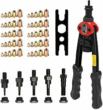 12in Labor Saving Hand Riveter Gun Nut Tool Kit