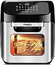 12L Air Fryer Toaster Oven, Elegant Life 12 in 1
