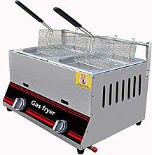 12L Deep Fryer Commercial Gas Manual Temperature