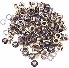 12mm Bronze Long Barrell Eyelets & Washers
