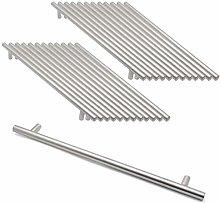 12mm Diameter Brushed Nickel Stainless Steel