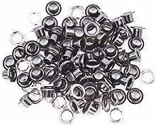 12mm Gunmetal Long Barrell Eyelets & Washers