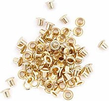 12mm Silver Long Barrell Eyelets & Washers