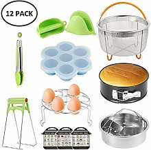 12pcs Instant Pot Accessories Set Kitchen Pressure