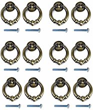 12Pcs Vintage Pull Handle Knobs for Kitchen