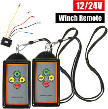 12V/24V 75ft Winch Wireless Remote With Control