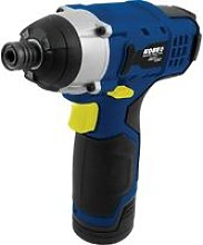 12V Cordless Impact Driver Pack with 2 X 1.3AH -