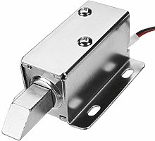 12V DC Electric Lock Assembly Solenoid Long