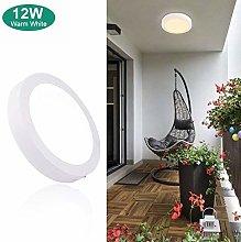 12W Led Bathroom Ceiling Light (Waterproof),