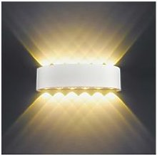 12W Modern LED Wall Light Up Down Indoor Wall Lights Aluminum Wall Lamp Lighting for Living Room