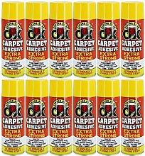 12x Heavy Duty 500ml Carpet Spray Adhesive Glue