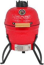 13' round ceramic grill portable mini ceramic