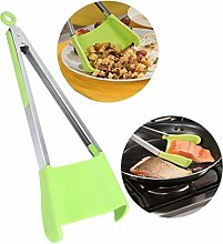 13.4 Inch Cooking Tongs, Premium Silicone &