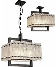 13-luminaire Center - Rectangular pendant light
