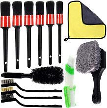 13 PCS Car Detailing Brush Set Car Wash Cleaning