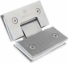 135° Stainless Steel Glass Door Hinge Bathroom