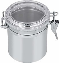 1350ml Airtight Coffee Canister, Stainless Steel