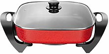 1360W 5L Electric Frying Pan,Square Multi Cooker