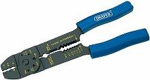 13657 - 4 Way Crimping Tool, 215mm - Draper