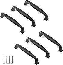 137mm Black Handle Pull Solid Aluminum Alloy