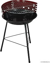 14' Round Barbecue Bbq Grill Outdoor Charcoal
