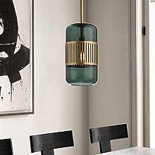 14.5 cm Pendant Light Modern Glass Cylinder Design