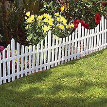 14.64 Meters 1 Set of 24 Plastic Fencing Garden