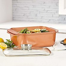 14 In 1 Multi-Use Copper Chef Wonder Cooker with