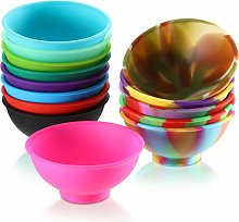 14 Pieces Mini Silicone Pinch Bowls, 1.75 Ounce