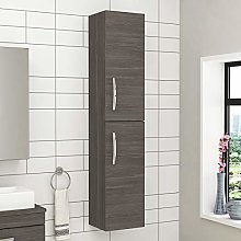 1450mm Wall Hung Tall Boy Unit 2 Door Bathroom