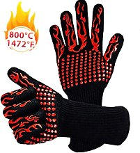1472 ? Extremely Heat Resistant BBQ Gloves, Food