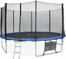 14ft Trampoline with Safety Net & Accessories Kit