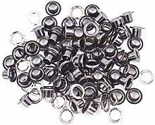 14mm Gunmetal Long Barrell Eyelets & Washers