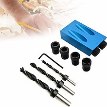 14Pcs Pocket Hole Screw Jig Dowel Drill Joinery