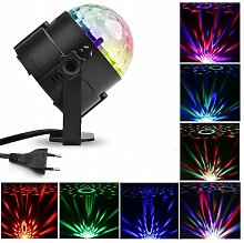 15 colors small magic ball light led scene light