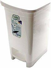 15 Litre Plastic Slim Eco Pedal Bin Dustbin