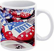 15 oz Funny Coffee Mug, Fashion Vote Accessory