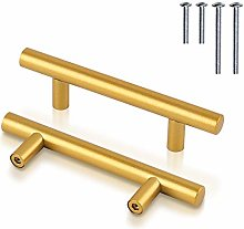15 Pack Cabinet Handles 76mm(3 inch) Hole Center,