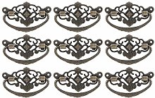 15 Sets Retro Style Wardrobe Handle Antique Handle