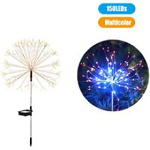 150 LEDs Solar Powered Energy Firework Design