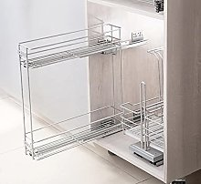 150 Pull Out Wire Basket, Spice Rack Soft Close