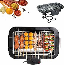 1500W BBQ Electric Countertop Grill Griddle Table