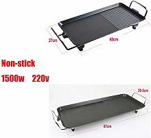 1500W Electric Teppanyaki Grill Hot BBQ Table Top