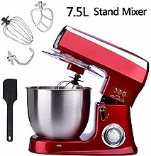 1500W Food Stand Mixer,with 7.5L Mixing Stainless